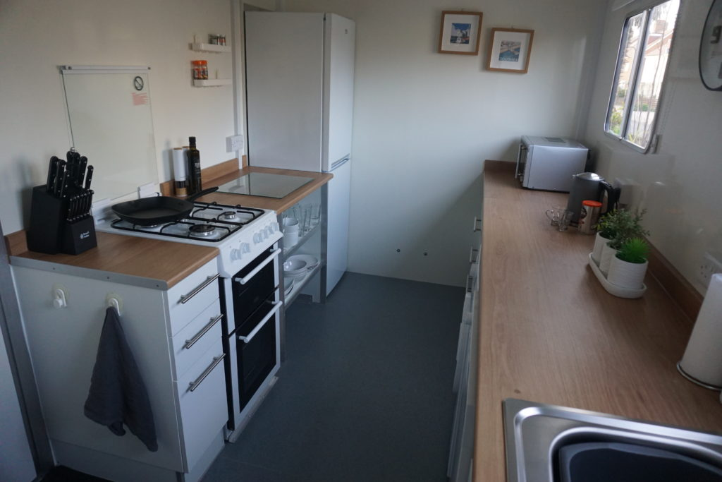 Our Instant Kitchen - mobile temporary kitchen hire